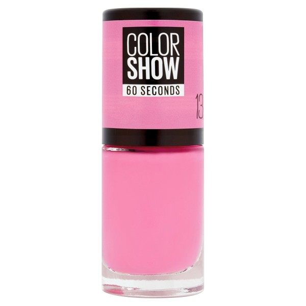 13 NY PRINCESS - Nail Polish Colorshow 60 Seconds of Gemey-Maybelline Gemey Maybelline 4,99 €