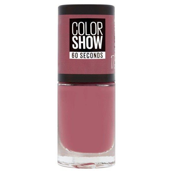 17 Smoky Rose - Vernis à Ongles Colorshow 60 Seconds de Gemey-Maybelline Maybelline 1,99€