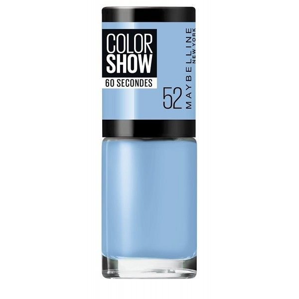52 It'a A Boy - Vernis à Ongles Colorshow 60 Seconds de Gemey-Maybelline Maybelline 1,99 €