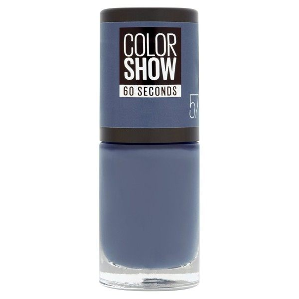 57 Old Denim - Vernis à Ongles Colorshow 60 Seconds de Gemey-Maybelline Maybelline 2,49 €