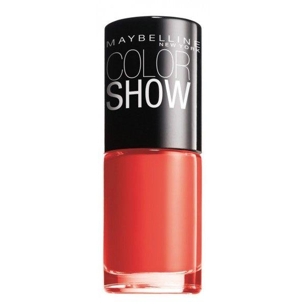 110 Urban Coral - Vernis à Ongles Colorshow 60 Seconds de Gemey-Maybelline Maybelline 0,99€