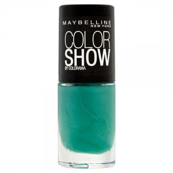 268 Show me the Green - Vernis à Ongles Colorshow 60 Seconds de Gemey-Maybelline Gemey Maybelline 4,99 €