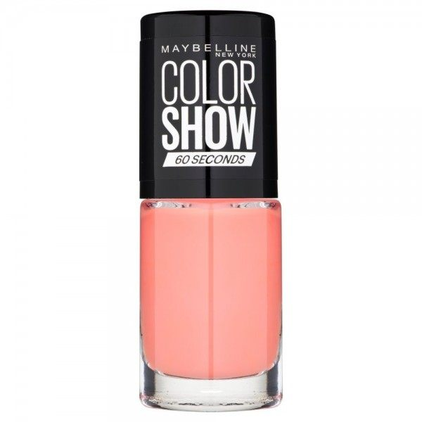 329 Canal Street Coral - Vernis à Ongles Colorshow 60 Seconds de Gemey-Maybelline Maybelline 1,99€