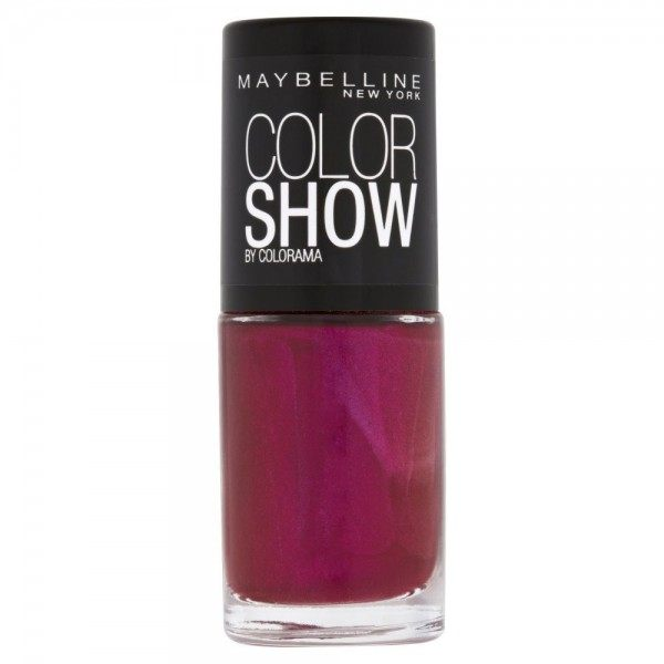 354 Berry Fushion - Vernis à Ongles Colorshow 60 Seconds de Gemey-Maybelline Maybelline 2,49€