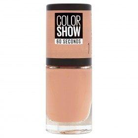 1 Go Bare - Nagellack Colorshow 60 Sekunden in der presse / pressemitteilungen-Maybelline presse / pressemitteilungen
