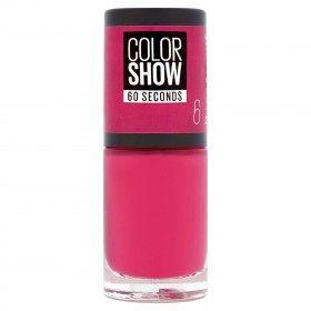 6 Bubblicious - Ungles Colorshow 60 Segons de Gemey-Maybelline Gemey Maybelline 4,99 €