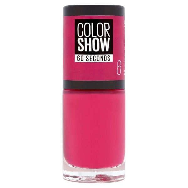 6 Bubblicious - Nail Colorshow 60 Seconds of Gemey-Maybelline Gemey Maybelline 4,99 €