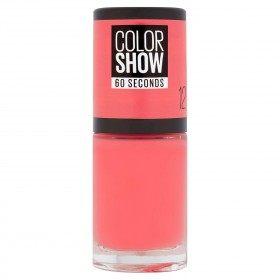 12 pór do Sol Cosme - Prego Colorshow 60 Segundos de Gemey-Maybelline Gemey Maybelline 4,99 €