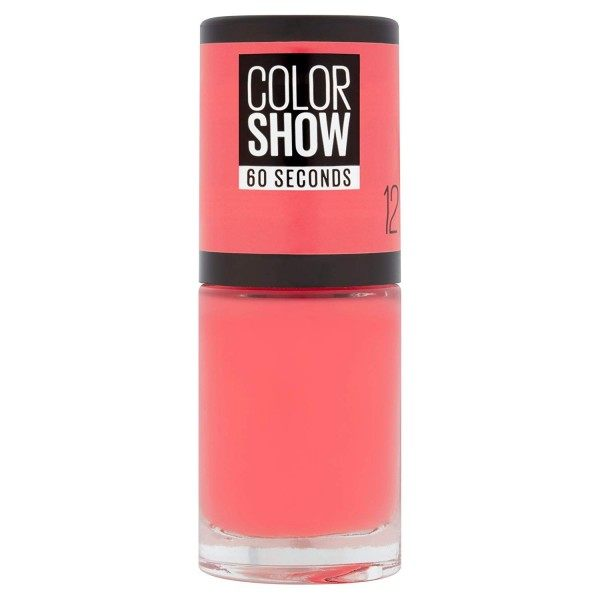 12 Sunset Cosmo - Vernis à Ongles Colorshow 60 Seconds de Gemey-Maybelline Gemey Maybelline 4,99 €