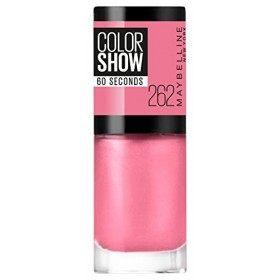 262 Pink Boom - Vernis à Ongles Colorshow 60 Seconds de Gemey-Maybelline Gemey Maybelline 4,99€