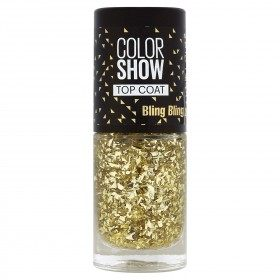 95 BLING BLING Top Coat - smalto Colorshow 60 Secondi di Gemey-Maybelline Gemey Maybelline 4,99 €