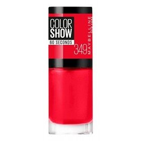349 Power Red - Nail Colorshow 60 Seconds of Gemey-Maybelline Gemey Maybelline 4,99 €