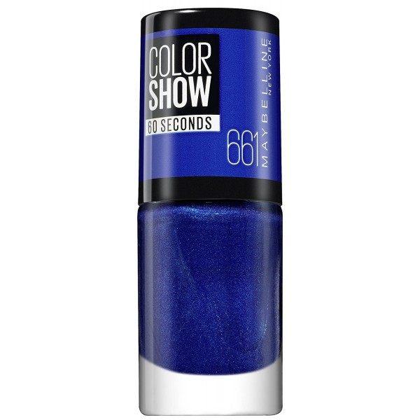 661 Ocean Blue - Vernis à Ongles Colorshow 60 Seconds de Gemey-Maybelline Maybelline 2,49€