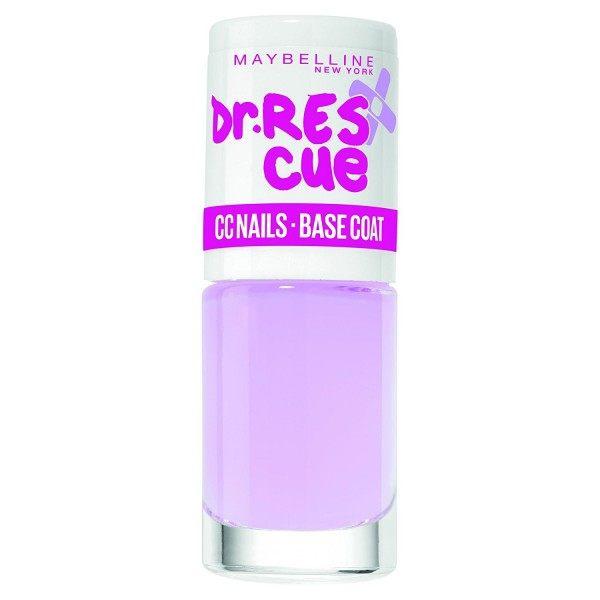 Dr Rescue CC Nails Base Coat - Vernis à Ongles Colorshow 60 Seconds de Gemey-Maybelline Maybelline 2,99€