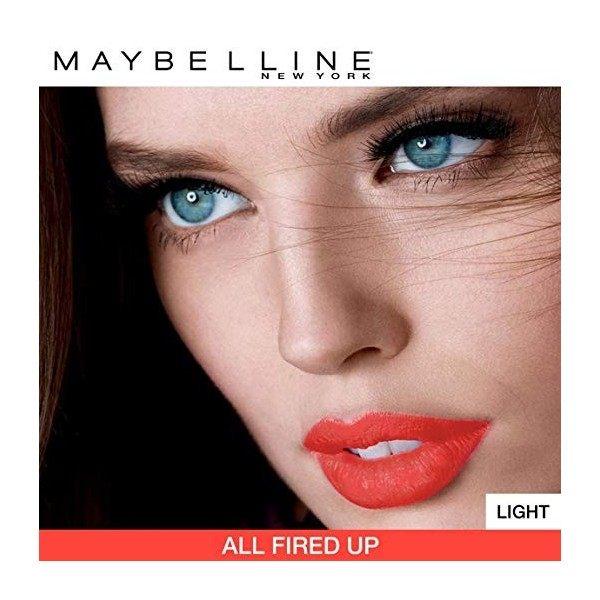 687 All Fired Up - Rouge à lèvre MATTE Maybelline Color Sensational Gemey Maybelline 12,99€
