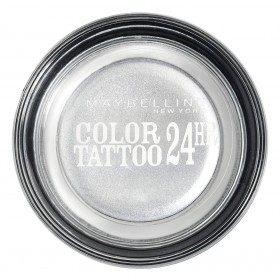 50 Eternal Silver - Color Tattoo 24h Gel Ombre à Paupières en Crème Gemey Maybelline Gemey Maybelline 12,90€