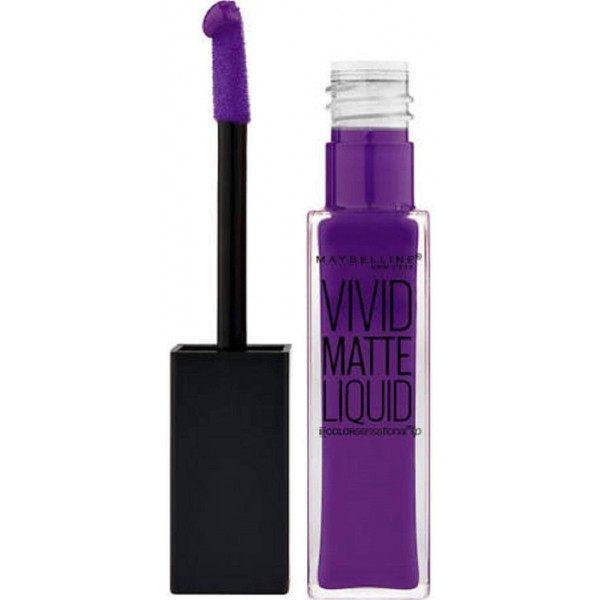 43 Vivid Violet - Rouge à lèvre Vivid Matte Liquid Gemey Maybelline Maybelline 2,99€