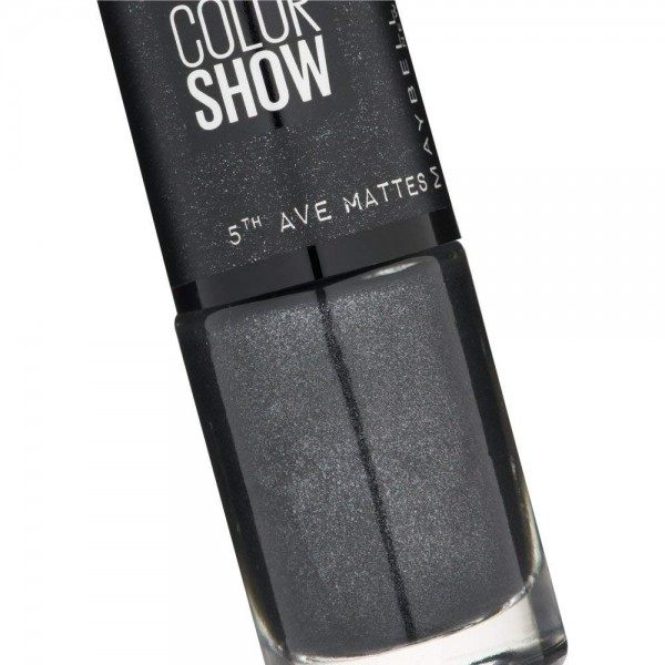 453 High Heel Pavement - Vernis à Ongles MAT Colorshow 60 Seconds de Gemey-Maybelline Gemey Maybelline 4,99 €