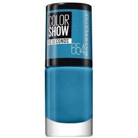 654 Superpower Blue - Nail Colorshow 60 Seconds of Gemey-Maybelline Gemey Maybelline 4,99 €