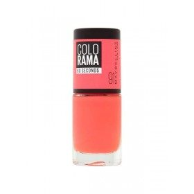 91 Punky Orange - Nail Colorshow 60 Seconds of Gemey-Maybelline Gemey Maybelline 4,99 €