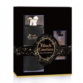 Black Emotion - Perfume Generic Woman 100ml Eau de Parfum + Travel Bottle 15ml Real Time 11,99 €