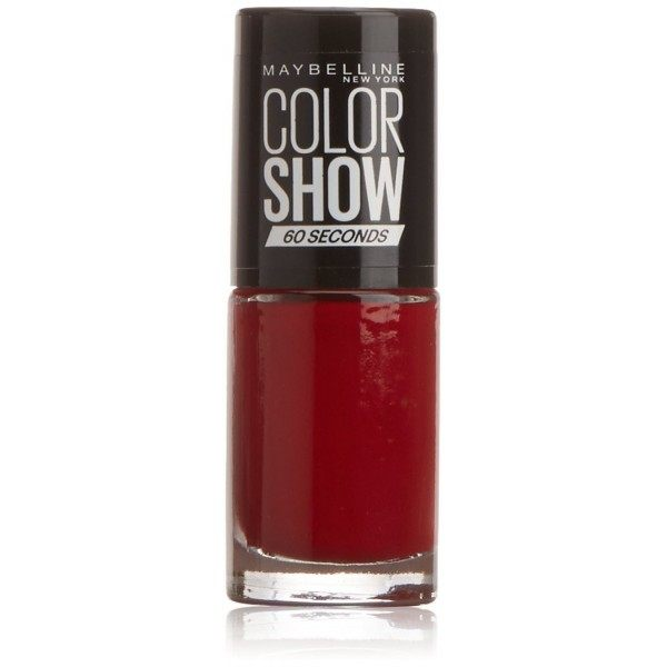15 Candy Apple - Vernis à Ongles Colorshow 60 Seconds de Gemey-Maybelline Maybelline 1,99€