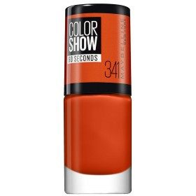 341 Orange Attack - Nail Colorshow 60 Seconds of Gemey-Maybelline Gemey Maybelline 4,99 €