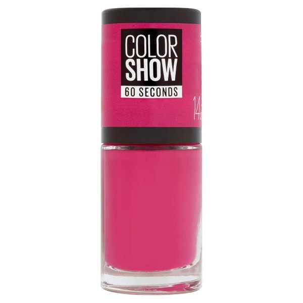 14 Show Time Pink - Vernis à Ongles Colorshow 60 Seconds de Gemey-Maybelline Maybelline 2,99€