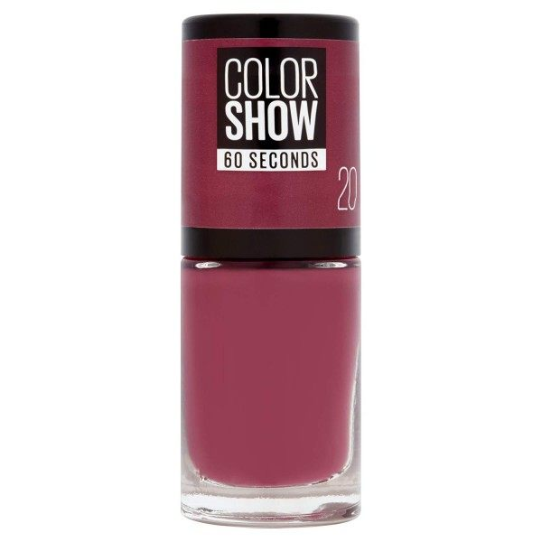 20 Blush Berry - Vernis à Ongles Colorshow 60 Seconds de Gemey-Maybelline Gemey Maybelline 4,99€