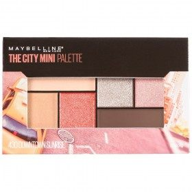 Downtown Sunrise - The City Mini Palette Palette eye Shadow Maybelline Gemey Maybelline 14,99 €