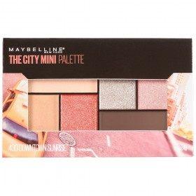 Het centrum van Zonsopgang - De Stad Mini Palet Palet oogschaduw van Maybelline Gemey Maybelline 14,99 €