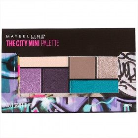 Graffiti Pops - The City Mini Palette Palette d'Ombre à Paupières Maybelline Gemey Maybelline 14,99 €