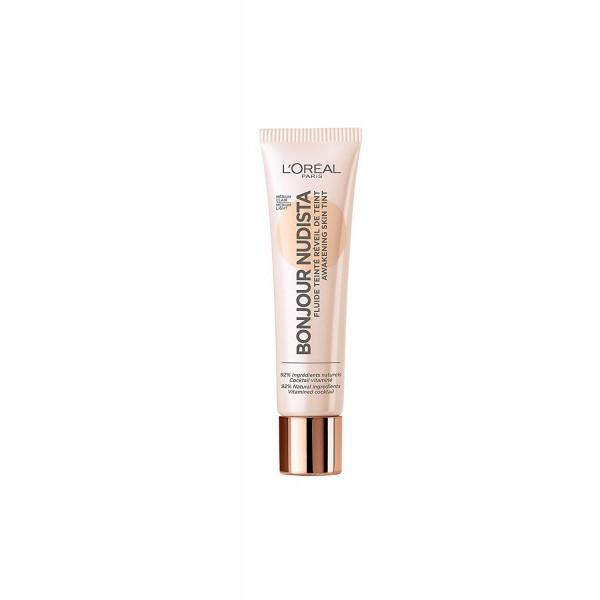 Médium Clair - BB Crème Bonjour Nudista Fluide Teinté de L'Oréal Paris L'Oréal 16,90€