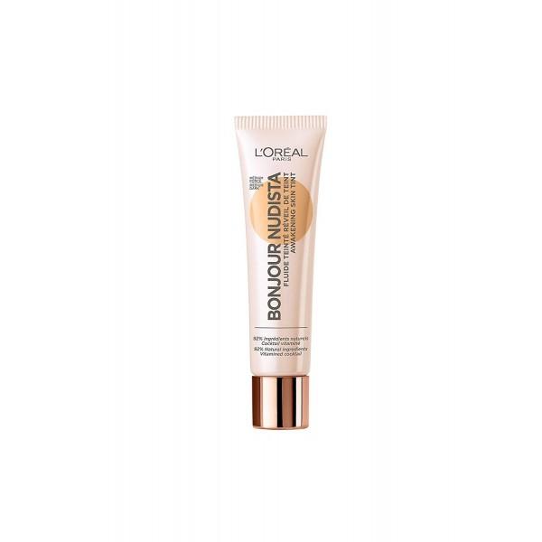 Médium Foncé - BB Crème Bonjour Nudista Fluide Teinté de L'Oréal Paris L'Oréal 16,90€