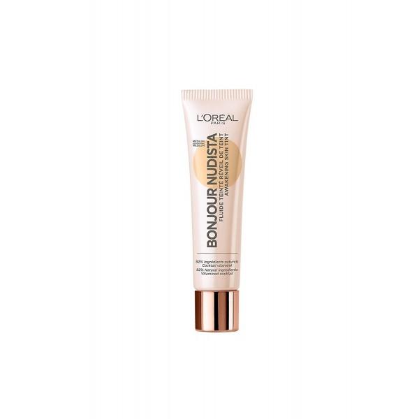 Médium - BB Crème Bonjour Nudista Fluide Teinté de L'Oréal Paris L'Oréal 16,90€