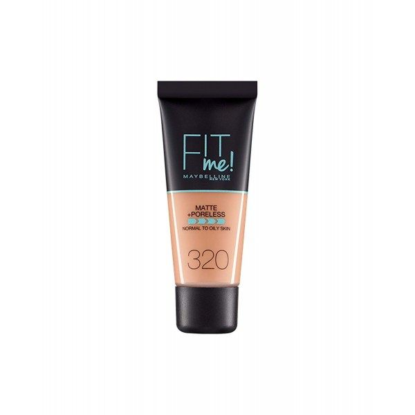 320 Natural Tan - Fond de Teint FIT ME MATTE & PORELESS de Maybelline Maybelline 5,99 €