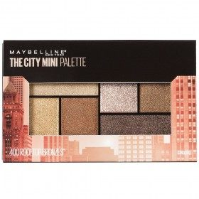 Rooftop Bronzes - The City Mini Palette Palette eye Shadow Maybelline Gemey Maybelline 14,99 €