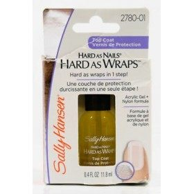 2780-01 Top Coat - Vernis à Ongles Acrylic GEL + Nylon Hard As Nails, Hard As Wraps Sally Hansen Sally Hansen 13,99 €