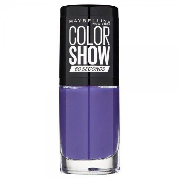 336 Violet Vogue - Vernis à Ongles Colorshow 60 Seconds de Gemey-Maybelline Maybelline 1,99€