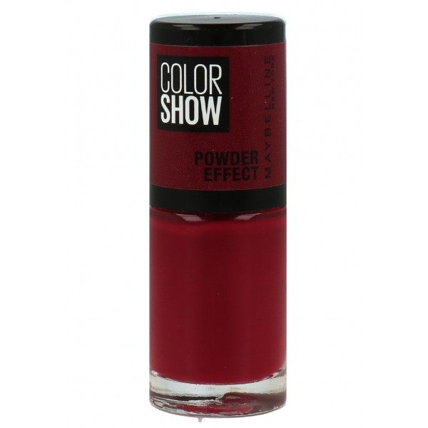 516 Cruel Ruby - Vernis à Ongles MAT Powder EFFECT Colorshow de Maybelline New York Maybelline 1,99€