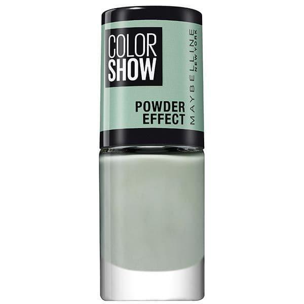520 Mint Sinner - Vernis à Ongles MAT Powder EFFECT Colorshow de Maybelline New York Gemey Maybelline 7,99€