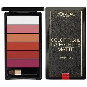 01 Bold MATTE Palette Lipstick MATTE Color Riche from L'oréal Paris L'oréal Paris 18,50 €