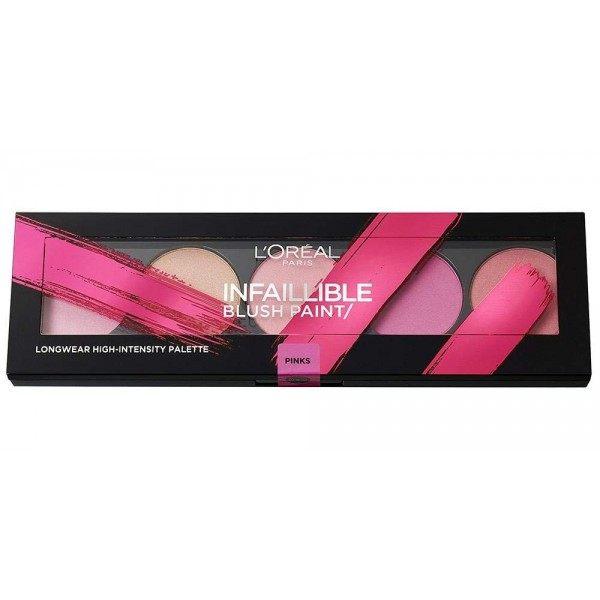 Les Roses - Palette Infaillible BLUSH PAINT de L'Oréal Paris L'Oréal 5,99€