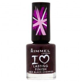 193 Black Cherries - Nail enamel I Love Lasting Finish Rimmel London Rimmel London 9,99 €