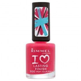 300 Pop Your Pink - painted Nails I Love Lasting Finish Rimmel London Rimmel London 9,99 €