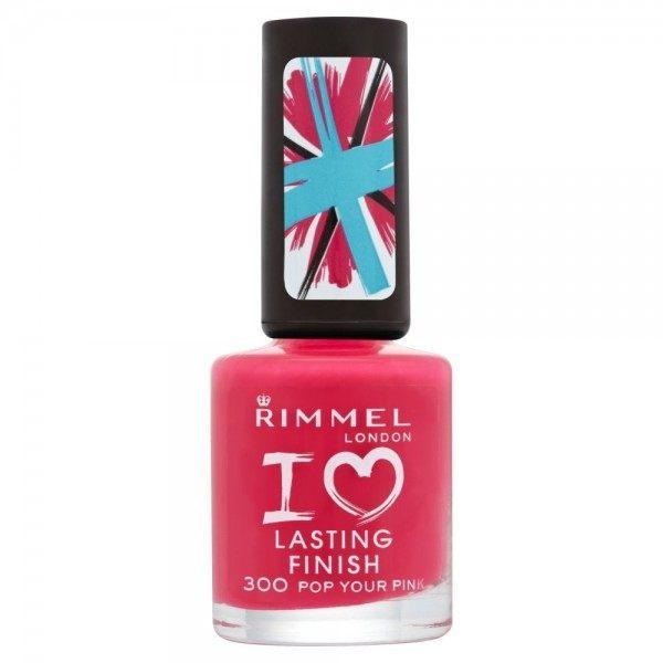 300 Pop Your Pink - Vernis à Ongles I Love Lasting Finish Rimmel London Rimmel London 0,99€