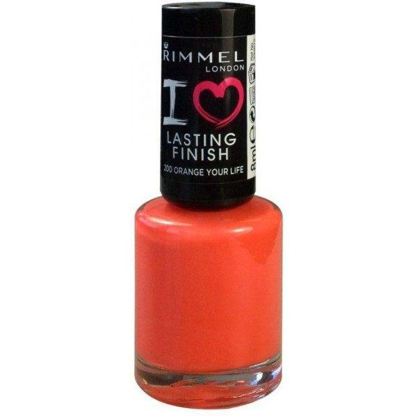 200 Orange Your Life - Vernis à Ongles I Love Lasting Finish Rimmel London Rimmel London 0,99€