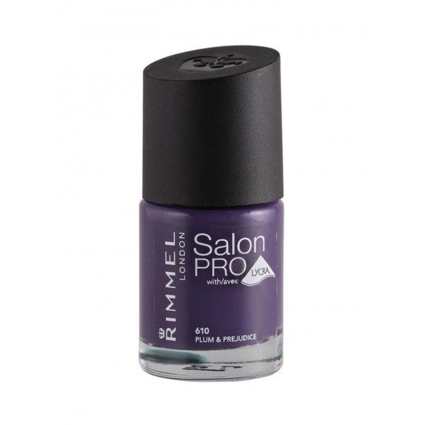 610 Plum & Prejudice - Nail Varnish Salon Pro with LYCRA Rimmel London Rimmel London 9,99 €