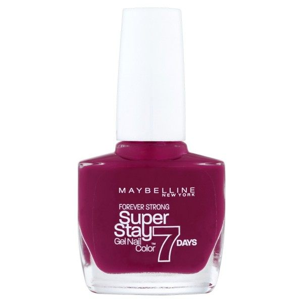 265 Divine Wine Nail Polish Strong Pro Superstay Gemey Maybelline