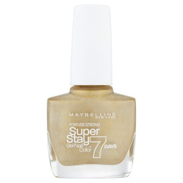 820 Champion en OR - Vernis à Ongles Strong & Pro / SuperStay Gemey Maybelline Maybelline 2,99 €